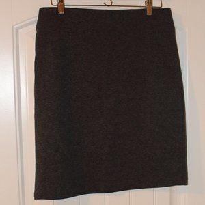 Old Navy Gray Pencil Skirt - Sz Medium
